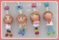 polymer  clay  doll--angel