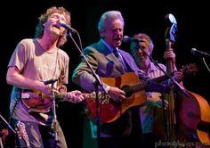 Sam Bush & Del McCoury at RockyGrass