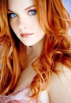 Red hair and those eyes!!!