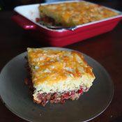 Chipotle Chili Cornbread Casserole, Recipe