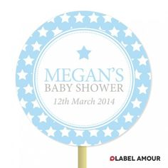 Get Kaitlyn Standing Topper for Baby's Party. You can adjust your design of the label or text related to your event on this label. Baby Topper makes your things awesome look.