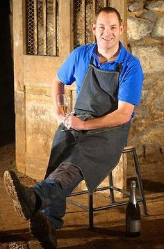 Winemaker John Harris in the Mitchell Harris Cellar. - this week's Epicure