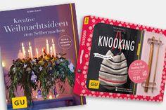 """Gewinnspiel: 20 Bücher von GU """"Kreative Weihnachtsideen zum Selbermachen"""" & """"Knooking – häkeln im Stricklook"""""""