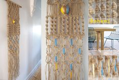 Macrame wall Hanging Bohemi Collection by cspiteri on Etsy