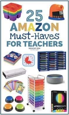 25 Amazon Must-Haves for Teachers | Education to the Core