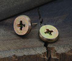 Men's Earrings Studs Unique Mens Earring by LarryJewelryShop