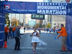RunnersWeb Athletics: Record Setting Day At CNO Financial Indianapolis Monumental Marathon