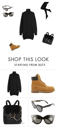 """""""fall/winter outfit"""" by tatatulescu-ada on Polyvore featuring Isabel Marant, Timberland, Chloé and Victoria Beckham"""