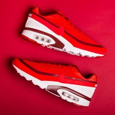 Bring on Spring with These Fire Red Nikes | GQ