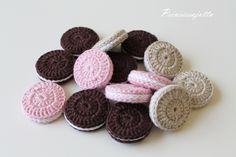 Prinsessajuttu: virkatut herkut Crochet Cake, Crochet Food, Crochet For Kids, Knit Crochet, Crafts To Do, Crafts For Kids, Baby Patterns, Crochet Patterns, Crochet Projects