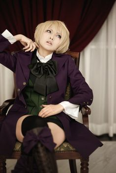 Alois Trancy cosplay