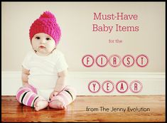 Baby Items That Helped Me Survive the First Year. Must-haves for new moms!