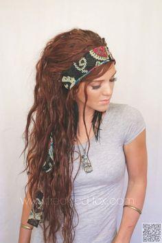 22. #Gypsy Style - 29 Chic Boho Hair #Styles Your Hair Wants Now ... → Hair #Braid