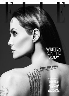 Angelina Jolie for Elle Magazine 2014