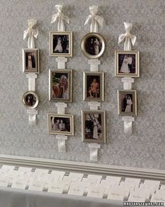 Sweet way to hang pictures