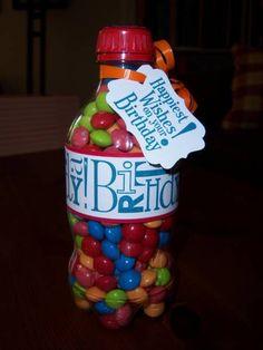 happy birhday skittle bottle!!!