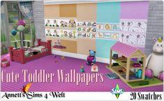 Annett's Sims 4 Welt: Cute Toddler Wallpapers