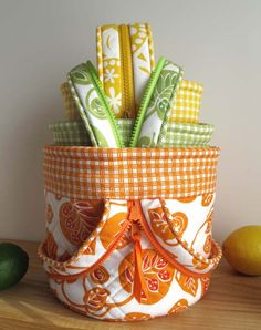 Ingrid Convertible Canisters - Paper Pattern by Hemma Design Patterns