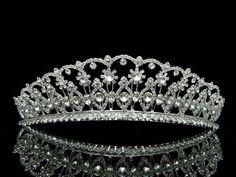 Bridal Wedding Beauty Pageant Rhinetone Crystal Tiara Crown - Clear Crystals Silver Plating Venus Jewelry,http://www.amazon.com/dp/B008CRWM0O/ref=cm_sw_r_pi_dp_Wpsgtb0ZFMTTGSR5