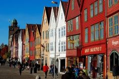 City of Bergen, located in western Norway is definitely a starting point for many fjord tours. Here will you read about many attractions that wait for a traveller the land of fjords, all of them in a short distance from Bergen. As Roma, Capital Of Norway, Norway Travel, Bergen, The Good Place, Rome, Places To Visit, Street View, Tours