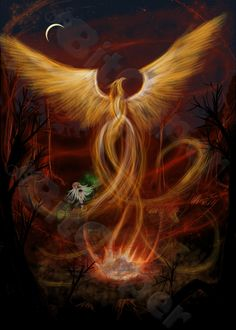 ... on my favorite mythical creature the phoenix perhaps its my christian
