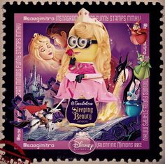 Disney Princess Minions ~ Sleeping Beauty
