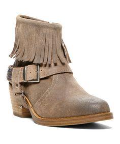 Steve Madden Taupe Suede CavvvoAnkle Boot. Fringe Ankle BootsLeather ... ef256fa5c0