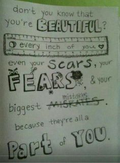 Every girl needs to read this! I am not a girl, but you all should read this:3