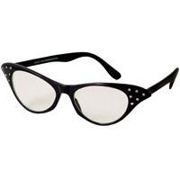 Large Cat Eye Glasses  http://www.retroplanet.com/PROD/26491