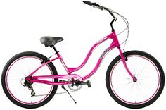 Aluminum Mango LongBoard 7 Speed Cruiser Bikes  Great for Town, Neighborhood or Beach Riding