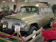"John Wayne's customized 1966 International Travel-All ""War Wagon"""