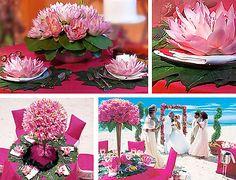 waterlily wedding centerpieces | Featured Floral Designer: Preston Bailey - New York