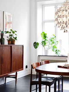 my scandinavian home: A Swedish apartment with bold tribal prints