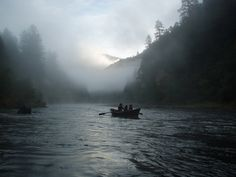 Fall fishing on the mighty Rogue River in southern Oregon