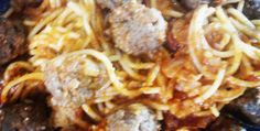 Pasta with Meat Balls
