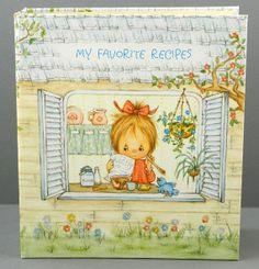 Betsy Clark Recipe Album for Hallmark 1973 I still have mine! When I was young. I loved Betsy Clark! Sweet Drawings, Clark Art, Card Book, Childhood Days, Holly Hobbie, Tatty Teddy, Vintage Cookbooks, Vintage Artwork, Vintage Dolls