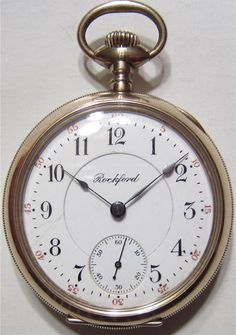 Antique 1908 Rockford 18 size 14k Gold by ViksVintageJewelry, $450.00