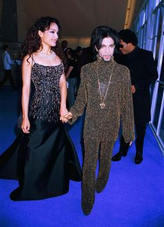 Syon House, Middlesex, Prince & Wife, 'De Beers/versace 'Diamonds Are Forever' Fashion Show, Prince The Singer Prince Wife, Mayte Garcia, Prince And Mayte, Little Red Corvette, Roger Nelson, Prince Rogers Nelson, Purple Reign, Most Beautiful Man, Record Producer