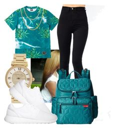 """""""StickTalk-Future"""" by birthdaygirl247 ❤ liked on Polyvore featuring Michael Kors, Skip Hop, NIKE and Cartier"""
