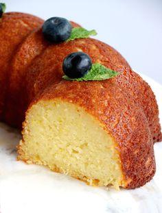 Perfect Lemon Ricotta Bundt Cake | Del's cooking twist Lemon Recipes, Cake Recipes, Lemon Ricotta Cake, Zucchini Cake, Salty Cake, Food Test, Recipe Steps, Baking Flour, Savoury Cake