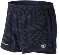 59d3eff163b4c New Balance Men's MS71230 Impact 3 Split Printed Short New Balance Men,  Knit Shorts,