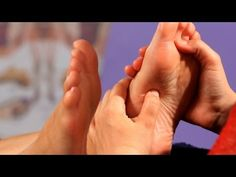 Reflexology for constipation video part 2