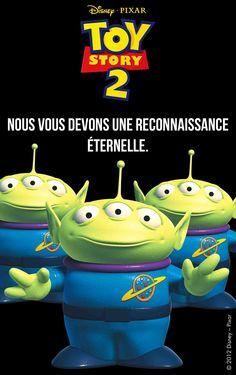 LES ALIENS (Toy Story) - © Disney  #ALIENS