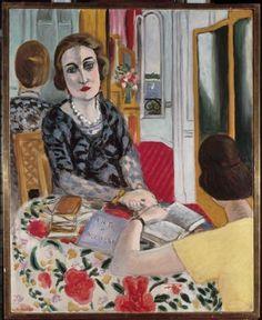 theshipthatflew:    Henri Matisse, Portrait de la Baronne Gourgaud, 1924, via RMN