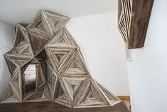 Architectural Installations Made with Reclaimed Materials-6