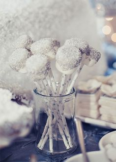 Marshmallows go luxe when decked out with dazzling shine. Take a look at our 10 favorite ways to add a little glamour to everyone's favorite course.