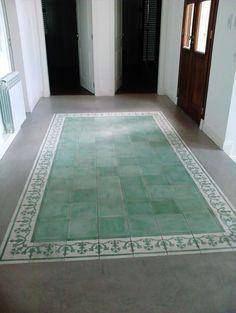 Home Exterior Design Indian 19 Ideas Floor Design, House Design, Best Flooring, Flooring Tiles, Cement Tiles, Exterior Makeover, Painted Floors, Interior Design Living Room, Colorful Interiors