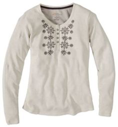 Natural Reflections® Double Knit Henley Shirt for Ladies - Long Sleeve | Bass Pro Shops