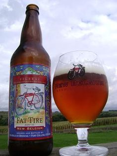Fat Tire - New Belgium Brewing... one of Ben's faves