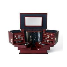 """Ross-Simons Deluxe """"Safekeeper"""" Jewelry Box"""